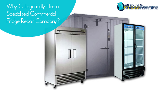 Why Categorically Hire a Specialised Commercial Fridge Repair Company?