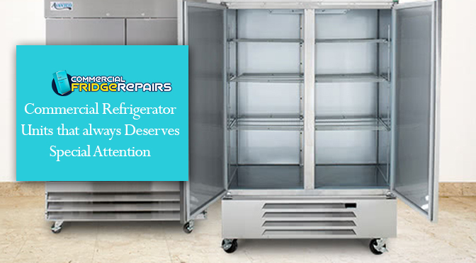Commercial Refrigerator Units That Always Deserves Special Attention