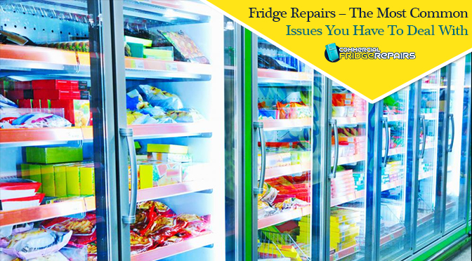 Fridge Repairs – the Most Common Issues You Have to Deal With