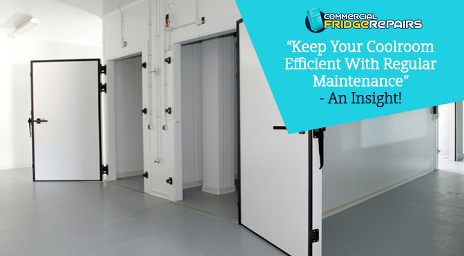 Keep Your Coolroom Efficient With Regular Maintenance – An Insight!