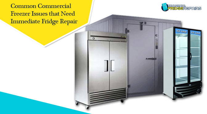 Common Commercial Freezer Issues that Need Immediate Fridge Repair