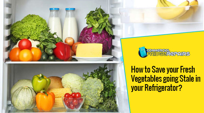 How to Save your Fresh Vegetables going Stale in your Refrigerator?
