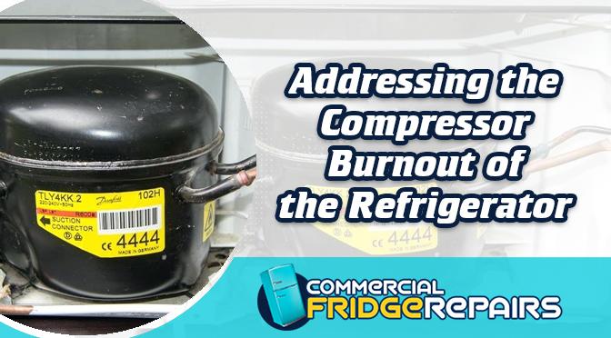 compressor burnout of the refrigerator