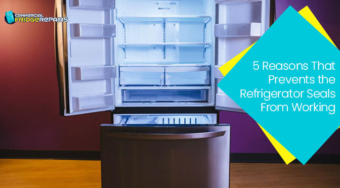 5 Reasons That Prevents the Refrigerator Seals From Working