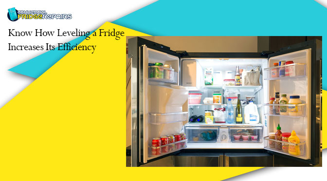 Know How Leveling a Fridge Increases Its Efficiency