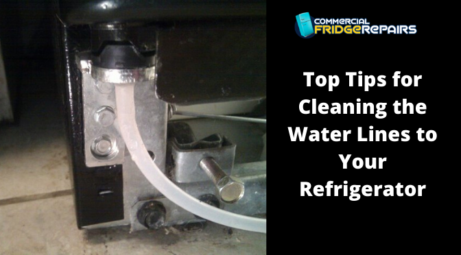 Top Tips for Cleaning the Water Lines to Your Refrigerator
