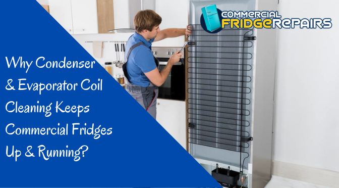 Why Condenser & Evaporator Coil Cleaning Keeps Commercial Fridges Up & Running?