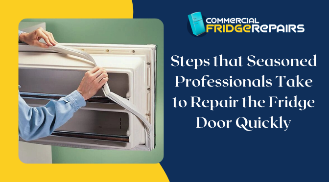 Steps that Seasoned Professionals Take to Repair the Fridge Door Quickly